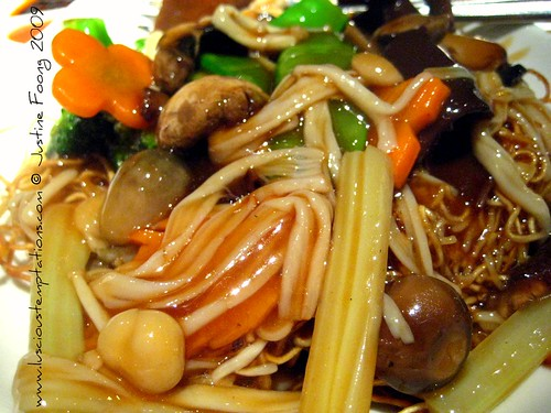 Assorted Fresh Mushroom Fried Noodles - Pearl Liang, Paddington