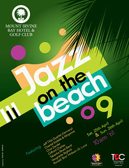 Jazz on the beach 09 Poster