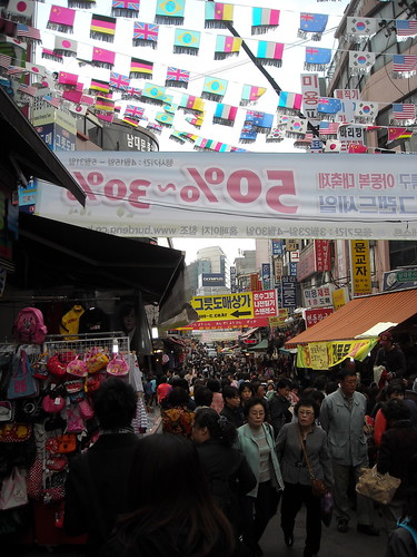 At Namdaemun Market