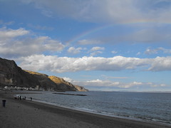 RAINBOW (LEFT SIDE) (Juan Nez) Tags: arcoiris almeria aguadulce blueribbonwinner 19deabril playaserena anawesomeshot theperfectphotographer