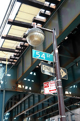 54th_St (dbjules) Tags: newyorkcity streetlight queens elevatedtrain 54thstreet number7train