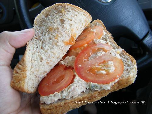 Tuna Mayo Sandwhich