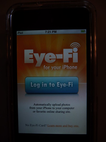 Eye-Fi on the iPhone