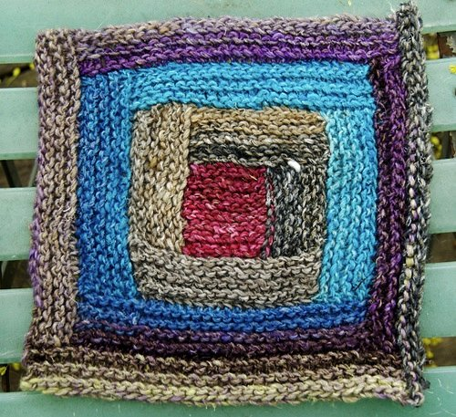 knitting square