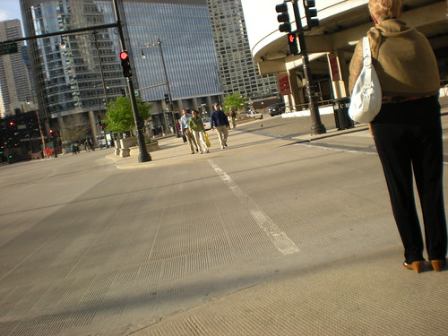 Great curb cuts in downtown Chicago