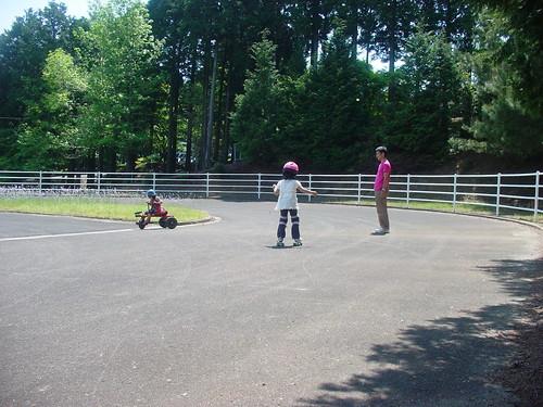 ローラースケート練習