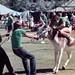 Celebrity Challenge donkey race