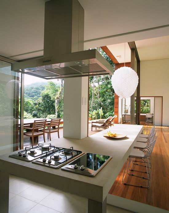 House Iporanga Modern Kitchen Design 1