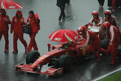 Ferrari & Umbrella