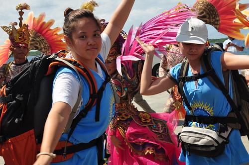 Team Aquaholics Trisha Halili and Lea Aspe