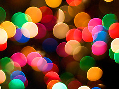 Hepi Bokeh (DELLipo) Tags: blue light red orange green yellow night happy lights colorful bokeh explore colourful maron hdellr dellipo