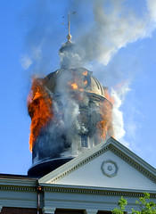 Madison Indiana Courthouse Fire