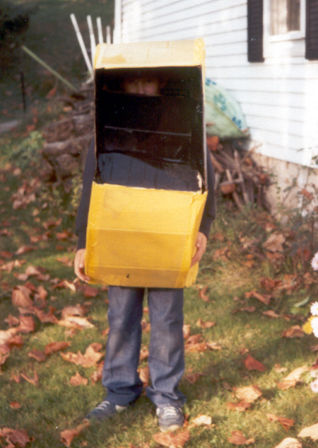 Brother - Pac-Man Costume - Front (Click to enlarge)