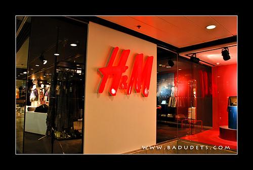 H&M in Silvercord Mall, HK