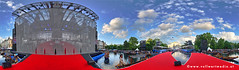 The Red Ribbon (vollwertmedia) Tags: vienna wien party panorama aids
