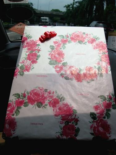 Takashimaya wrapper