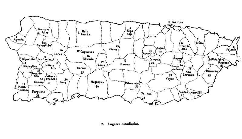 1. Municipios de Puerto Rico