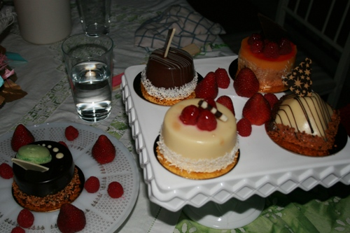 desserts from Patrick's Bakery