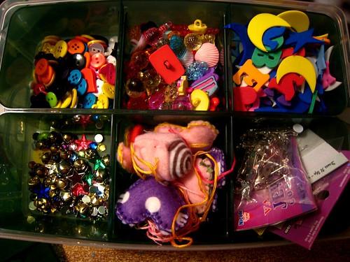 Craft Supplies Stash