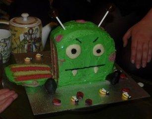 Stripey Cake!