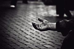 Forgotten Hands (Hamed Parham) Tags: poverty nottingham uk shadows hand hunger need change hamedparham forgottenhands