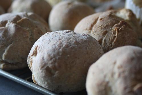Boliños de trigo e centeo
