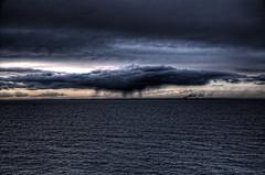 Sassnitz-Trelleborg_07 (Oliver Wilke) Tags: light sunset sea sky sun water rain clouds germany deutschland coast licht meer wasser waves sonnenuntergang sweden schweden dramatic himmel wolken balticsea sverige sonne ostsee hdr regen kste wellen tonemapped dramatisch