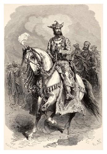025-Maharajá de Gwalior-La India en palabras e imágenes 1880-1881- © Universitätsbibliothek Heidelberg