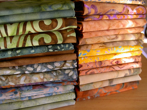 Batik quilt kit