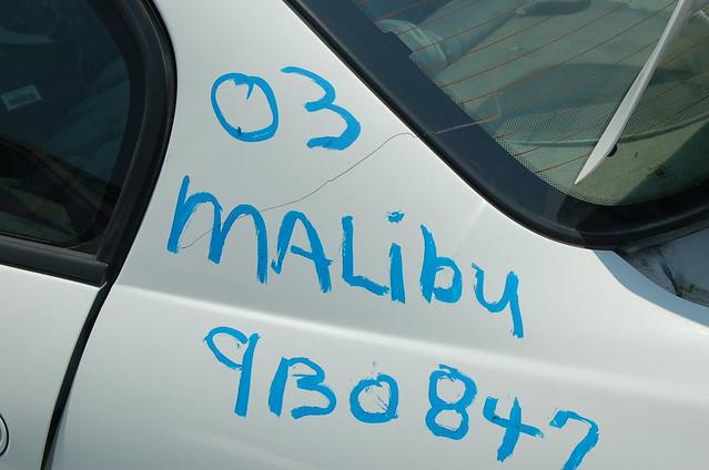 2003 chevrolet malibu 9b0847