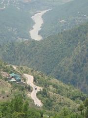 jhelum - the river (tango 48) Tags: road pakistan green river hills pines islamabad muree jhelumriver jhelum dewal