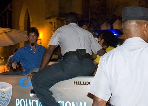 Artistas argentinos presos la noche del 27 de Junio