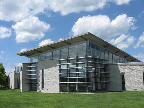 Modern And Postmodern Architecture Public Library Of Cincinnati Hamilton County Harrison Branch
