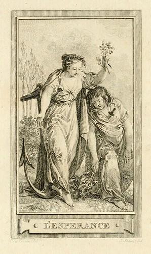 013- Esperanza-Iconologie par figures-Gravelot 1791