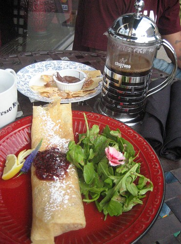 The Monte Cristo, Crispies, and French Press Coffee, CR:  Brandon Edward Miller