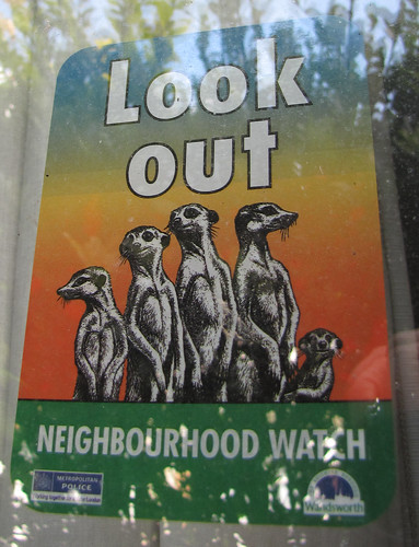 Wandsworth Neighbourhood Watch stickers