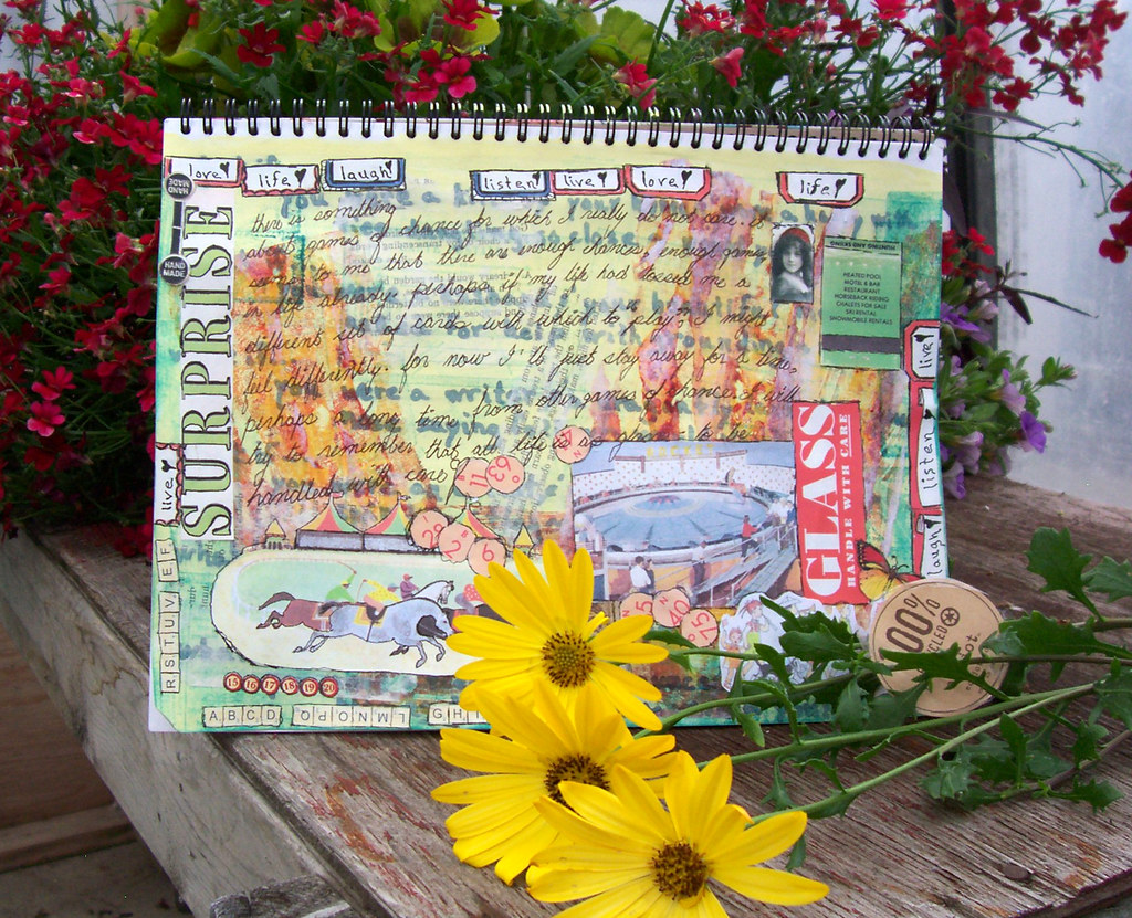 eco-jotter journal pages