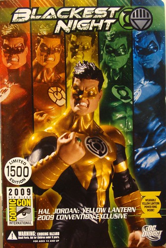 Yellow Lantern Hal Jordan action figure
