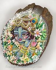 Krishna Decorated Delicate dots - ISKCON desire tree (ISKCON Desire Tree) Tags: demon krishna radha vrndavana balaram iskcon putana devaki radharani kamsa bakasura aghasura