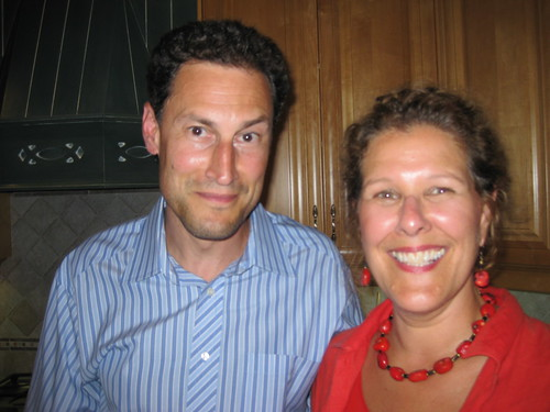 Steve Paikin and Bev Moir, Brain Injury Association of Canada Organizing Committee Pool Party