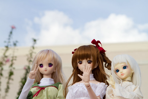 Dollfie Dream shoot at Honolulu Convention Center