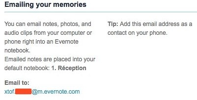 emailez vos mémoires
