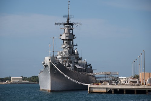 Veterans Day Event at Battleship Missouri Memorial in Pearl