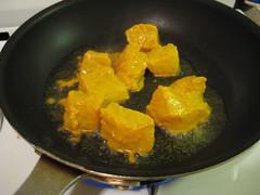 faire frire le poisson