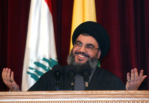 Image result for hassan nasrallah smiling