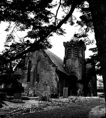 Elvanfoot Church (John B G ( Recovering from illness )) Tags: church scotland pix fuji south fine hills lead lanarkshire elvanfoot s5700 multimegashot