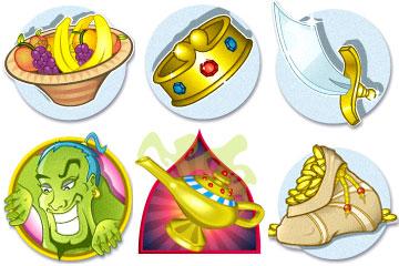 Aladdin's Wishes bonus symbols