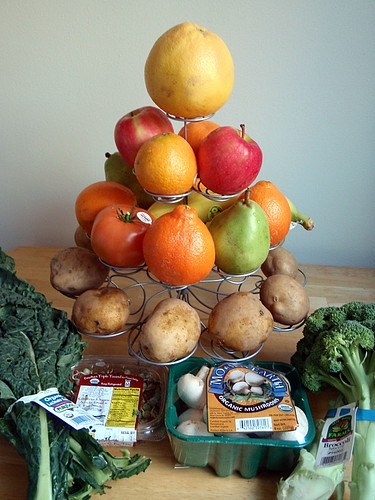 This week's Boston Organics delivery