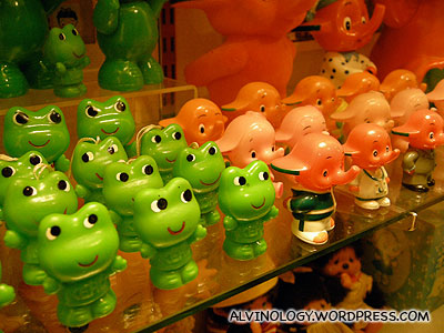 Japanese governmental mascots (our Sharity Elephant and the Clean and Green Frog were probably copied from these two)