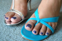 Silver & Blue versus Powder / Dark Blue (RyshardAntonio) Tags: blue red sunlight feet silver grey toes highheels legs heels pedicure buckle toenails prettytoes redhighheels redpumps opentoedshoes blackhighheels asianlegs asianfeet freshpedicure silverhighheels greatfeet perfecttoes pedicuredtoes asiantoes greyhighheels michimoo powderbluehighheels bluepedicuredtoenails toesupclose